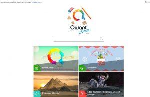 Qwant junior- le moteur de recherche français pour les jeunes français