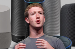 enceinte connectée de facebook