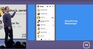 F8 Facebook Messenger Nouveau Look