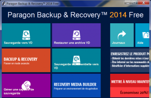 Backup et Recovery Preview Free