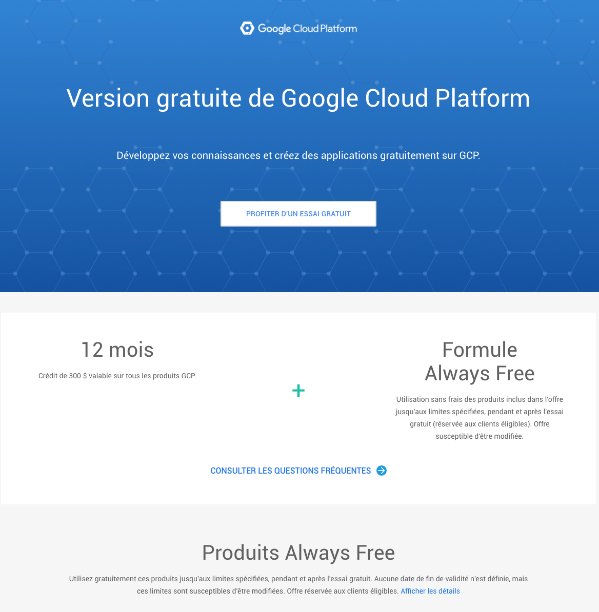 Google Cloud Plateform