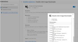 Double-click-Image-Downloader-extension-chrome-et-firefox