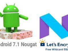 Let-Encrypt-SSL-android7.1.1