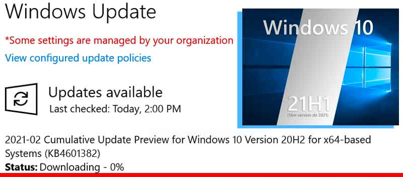 When will Windows 10 21H1 be available